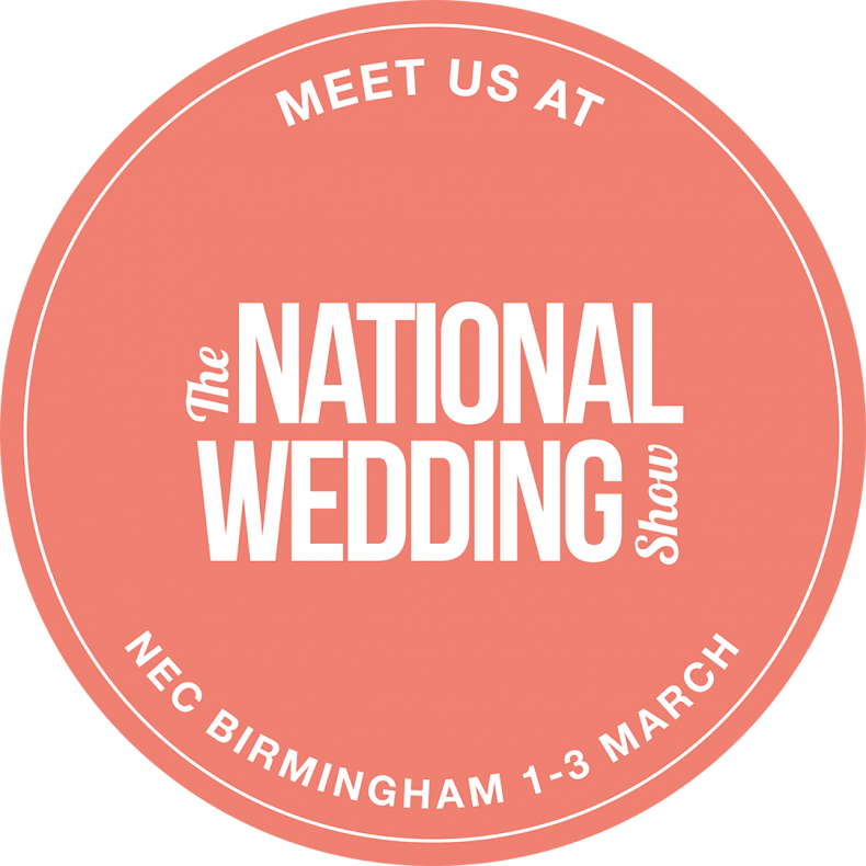 National Wedding Show NEC Birmingham 1-3 March 2019